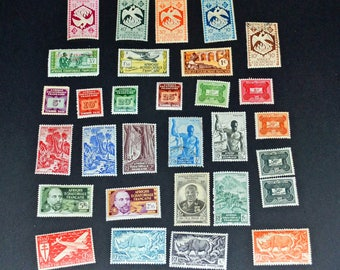 32 French africa Equitorial Africa almost all mint