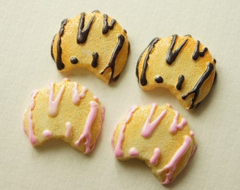 4 pcs Big Cookie Cabochon (32mm) CD104