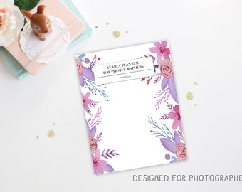 Photographer's Planner - Photography Planner - Photography Planning -  Photography Business - Business Social Media - Instant Download