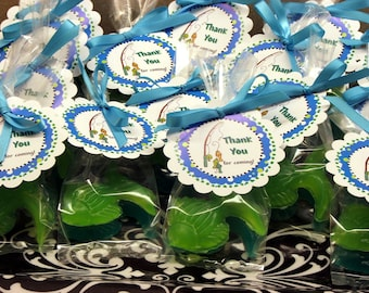 20 Gone Fishing Fish Soap Party Favors Soaps Birthday Baby Shower party favor with custom tags