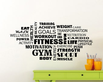 Motivational Colors For Workout Room