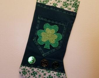 The LUCK of the Irish stocking