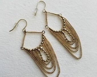 Irresistible Gold Bohemian Earrings