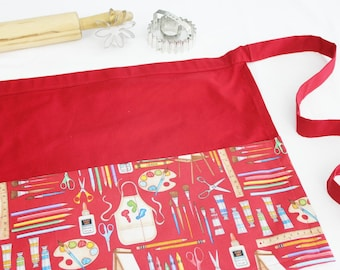 Art Supplies Adult Apron