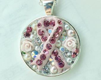 Charity Ribbon Pendant