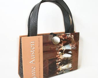 Jane Austen Book Purse Handbag Pride and Prejudice