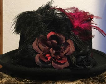 Black Party Prom Costume Top Hat