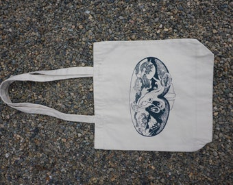 Scuba Mask Tote Bag