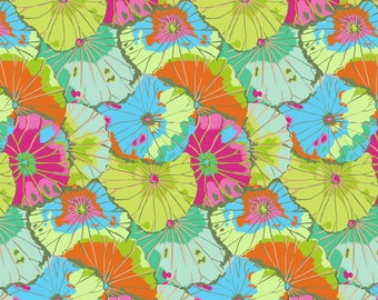 Lotus Leaf Lime - Spring 2018 - PWGP029-LIMEX - Kaffe Fassett Classics 100% Quilters Cotton Available in Fat Quarter, Half Yard, Yard