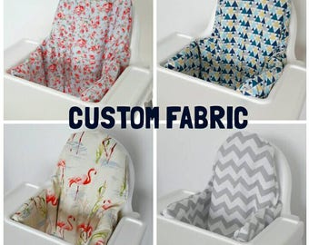 Custom Antilop IKEA highchair cushion cover - cushion cover only - various colours/patterns - Custom order - MADE to ORDER klammig cover