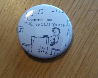Lunchtime For The Wild Youth badge