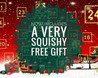 Yarn Advent Calendar - Hand Dyed Sock Yarn 480g + Free Gift