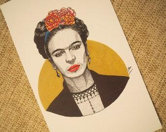 Frida Kahlo's portrait