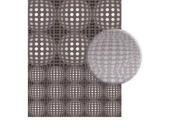 Texture plate 3D balls