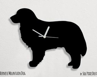 Bernese Mountain Dog - Wall Clock