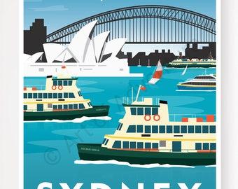 Sydney Ferries – Sydney Australia