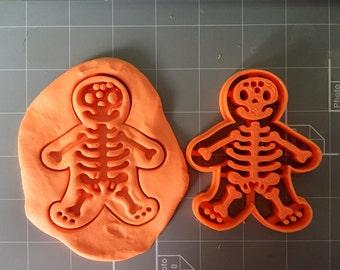Gingerbread Skeleton Cookie Cutter