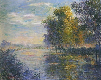 Impressionism Art, Impressionism Painting, Impressionism Oil Painting, Gustave Loiseau Painting Museum Quality Reproduction