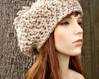Instant Download Crochet Pattern - Oversized Beret Pattern - Crochet Hat Pattern for Pom Pom Beret - Womens Hat Pattern - Womens Accessories