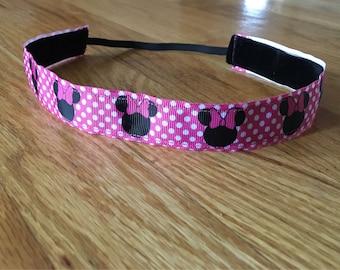 Minnie Mouse non-slip headband