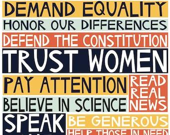 2017 manifesto archival print