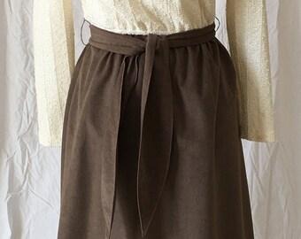 Vintage Ultrasuede Dress