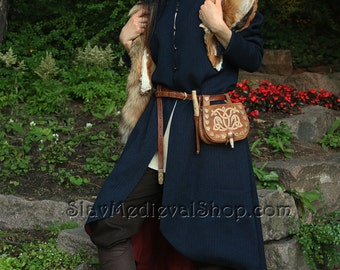 "Woman's coat ""Lagherta"", TV series ""The Vikings"". Perfect for LARP s and historical stylizations."