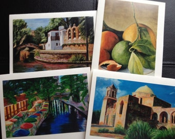 Set of Notecards from Original Paintings