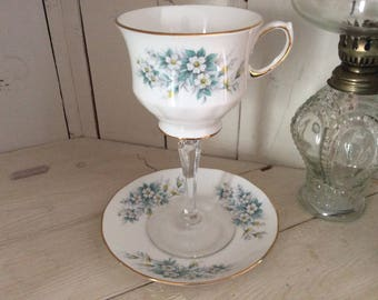 Teacup Wine Glass