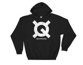Quantstamp Hooded Sweatshirt // Security Protocol Hoodie // Quantstamp Logo Hoodie // Ethereum Smart Hoodie // Blockchain Sweatshirt