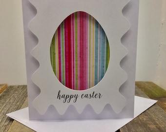 Happy Easter Card, Easter Card, Easter Egg Card, Egg Card, Colorful Easter Card, Easter, Happy Easter, Easter Egg, Spring Card, Spring