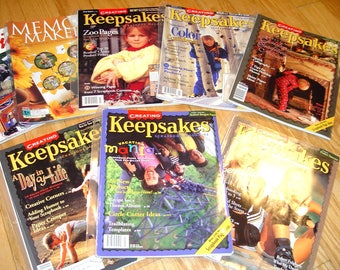 Creating Scrapbooking Magazines Lot