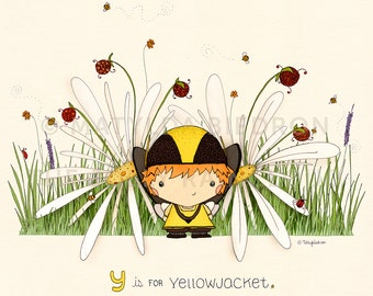 Y is for Yellowjacket