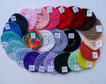Small Bun Cover, Crochet Bun Cover, Bun Wrap, Bun Holder, Snood, Ballet, Dance, Flamenco, Gymnastics, Equestrian Show Hair