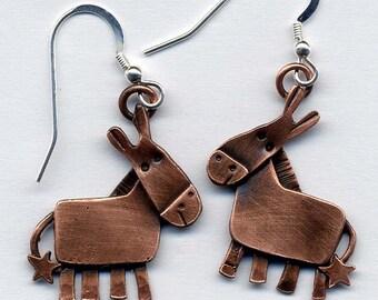 Donkey Earrings