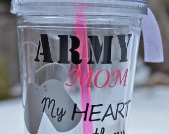 Army Mom/Wife Tumbler