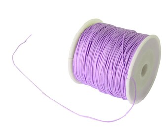 0.5 or 0.8 mm - 10 m Nylon thread woven lilac