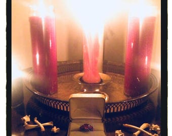 Made To Order Mojo Bags & Candle Spells - Channeling/Drawing/Warding Pocket Amulet - Love/Luck/Protection/Prosperity/Health