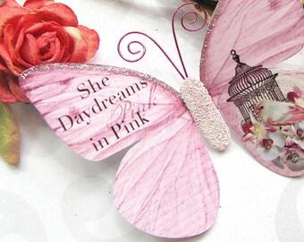 Butterfly Embellishments She Daydreams