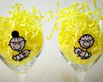 Grandparent Personalized Glasses