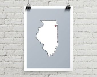 Chicago Love - Giclee Print