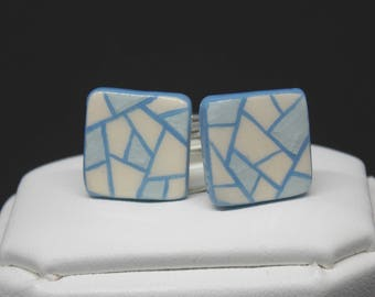Blue cuff - links