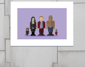 Featureless Portrait Guardians of the Galaxy