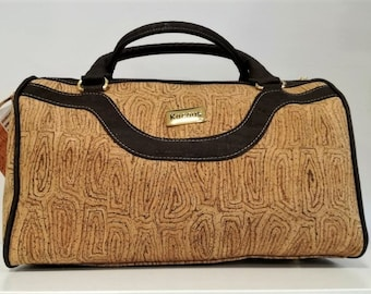 Cork Lady Bag - Fine Cork Handbag - Cork Purse - Eco-friendly Shoulder Bag