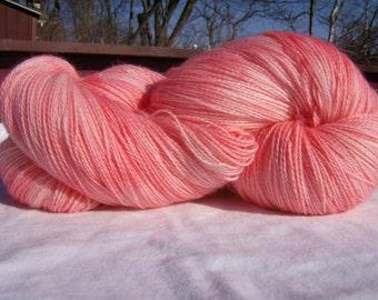 Girlie- Hand-painted Superwash Merino Wool Yarn 450 yards
