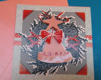 3D 857 hand made greeting card