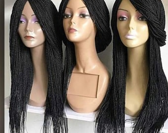 Braided wig Handmade Senegalese Twist wig 22inches