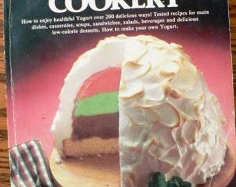 Vintage cookbook kitsch .. YOGURT COOKERY 1978 COOKBOOK ...