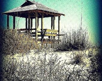 "NEW YORK PHOTOGRAPH ""Beach in Winter"""