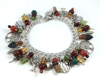 Autumn Days Charm Bracelet